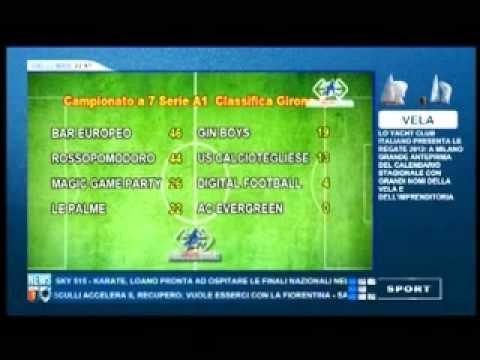 """TRASMISSIONE """"CALCIO LIGURIA"""" (PRIMOCANALE SPORT) – 22 MARZO 2012"""