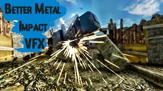 Fallout: New Vegas - модификация / Better Metal Impact VFX