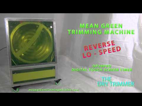 MEAN GREEN TRIMMING MACHINE...