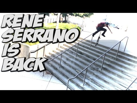 RENE SERRANO IS BACK !!! - A DAY WITH NKA -