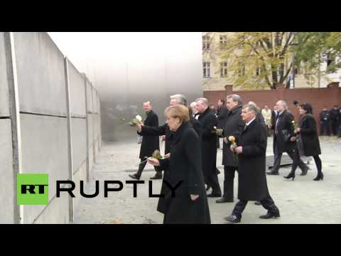 Germany: Merkel marks 25 years since the fall of the Berlin wall