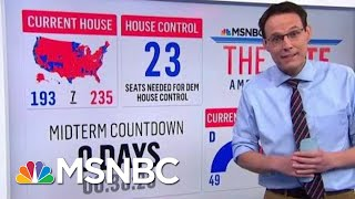 Steve Kornacki Breaks Down Whether Democrats Can Take Back The Senate | The 11th Hour | MSNBC