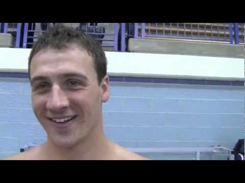 Ryan Lochte interview - does he think Phelps will come back?