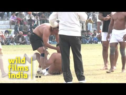 Madness Of A Kabaddi Match In India video