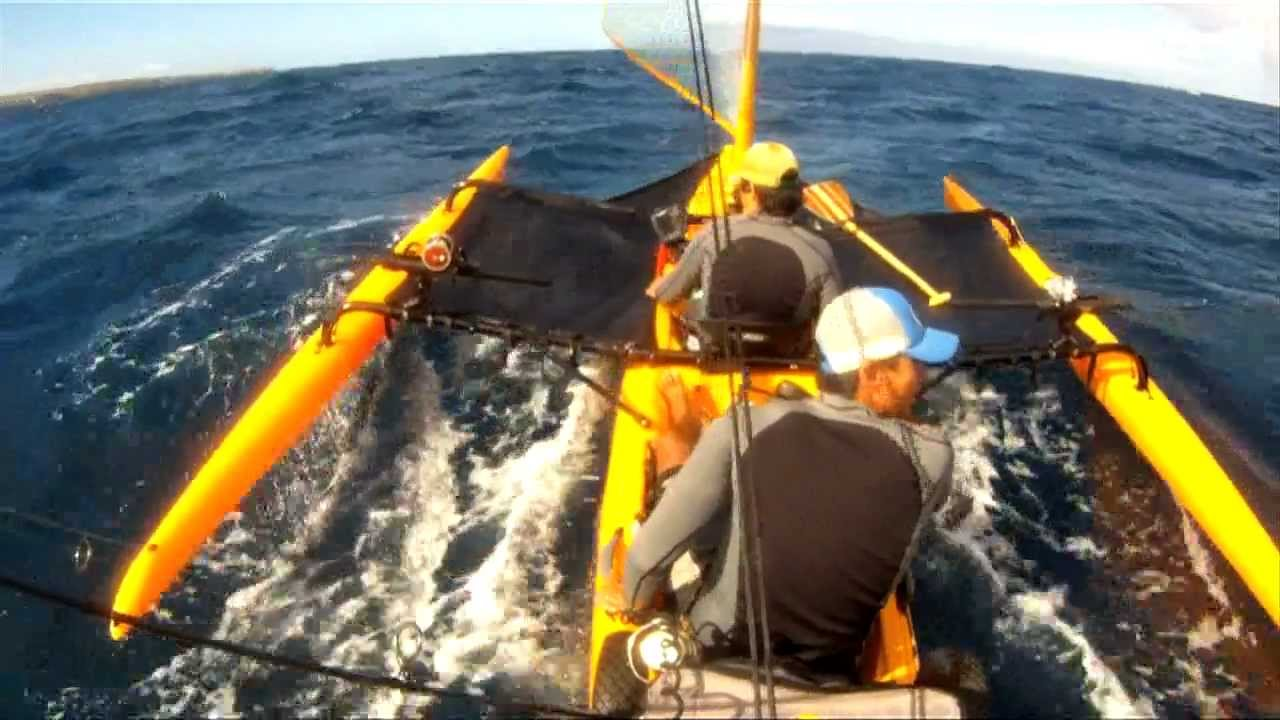 Extreme kayak fishing maui hawaii ch 2 waiehu water for Kayak fishing hawaii