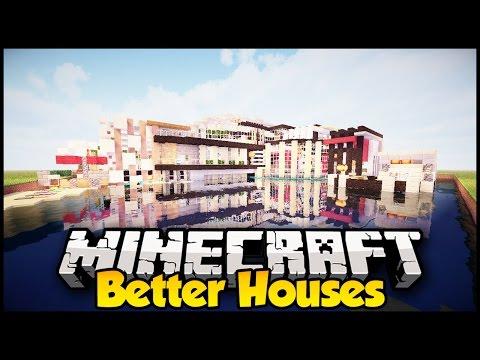Minecraft: INSTANT HOUSE MOD!