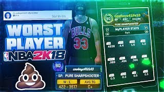 CAN DF WIN WITH THE WORST RECORD IN NBA 2K18 HISTORY? THE ULTIMATE MYPARK RECORD CHALLENGE