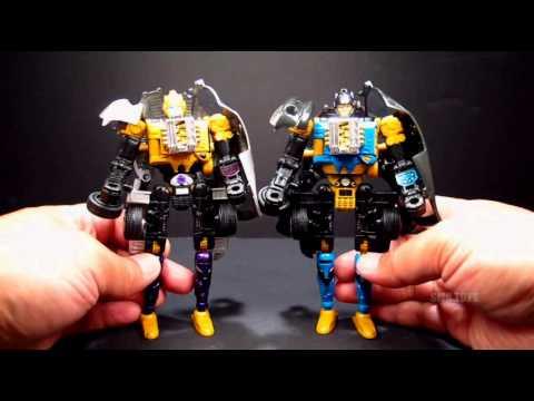 OTFCC 2003 Exclusive Transformers Universe Viper Twins Roulette & Shadow Striker