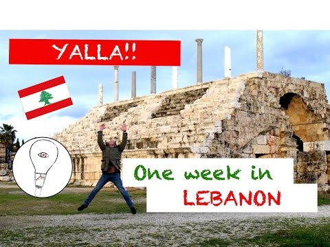 Yalla! - one week in Lebanon - Beirut, Chouf Mountains, Byblos, Tyre