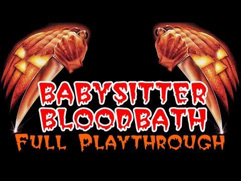 Babysitter Bloodbath: Full Playthrough (free Indie Horror Game) video