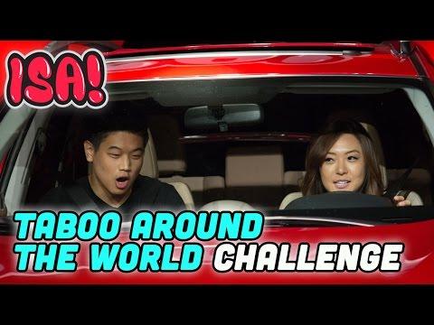 TABOO AROUND THE WORLD CHALLENGE! - ISA! Variety Game Show Season 2 Pt. 7