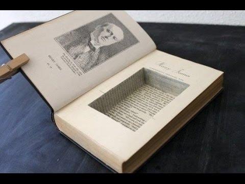 Книгу тайник своими руками