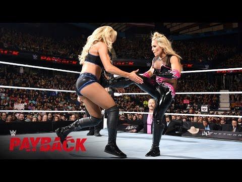 Natalya vs. Charlotte - WWE Women's Title Match: WWE Payback 2016 on WWE Network