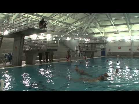 U.S. Marine Corps Recruit Swim Qualification