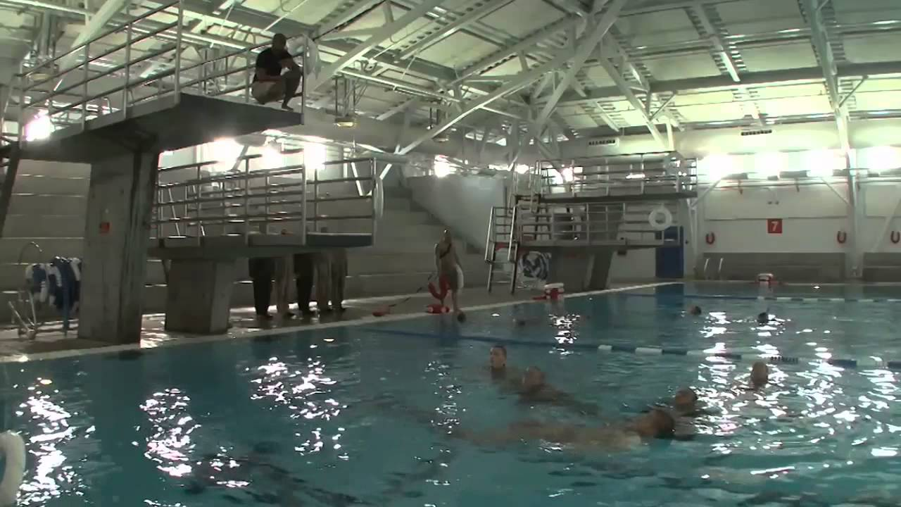 U.S. Marine Corps Recruit Swim Qualification - YouTube