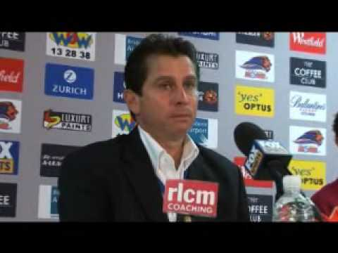 Hyundai A-League - Frank Farina, Brisbane Roar Coach