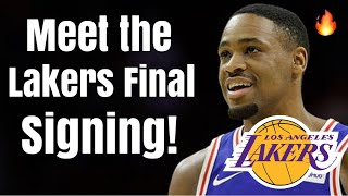 Meet the Los Angeles Lakers FINAL Roster SIGNING! | Russell Westbrook-lite Next to LeBron James!