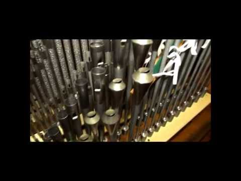 Br. Brent Stull play Opus 1702 - Refurbished and Expanded 2014