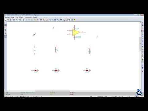 KiCad. Tutorial 1. Diseño de esquemático. CdM