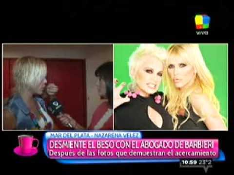 Mirá la reacción de Nazarena Vélez cuando le preguntaron por las fotos con Gonzalo Gamarra