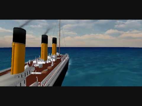 Titanic on active worlds youtube for I salonisti titanic