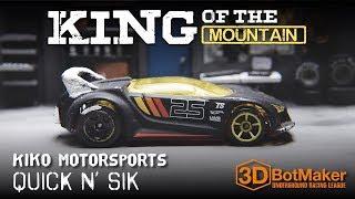 Quik N' Sik vs. Lancer Evo - Custom Hot Wheels Diecast Racing