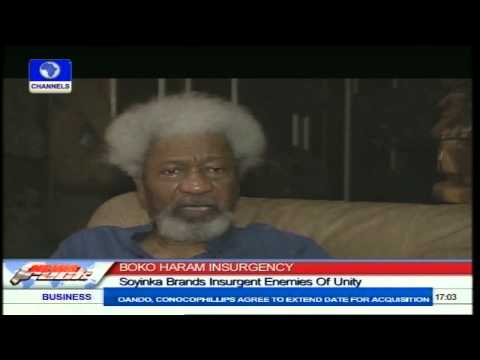 Boko Haram Menace Worse Than Biafran War - Soyinka