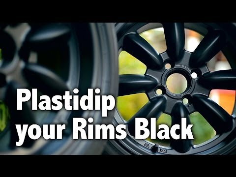 Miata MX5: Plastidip Your Rims Black