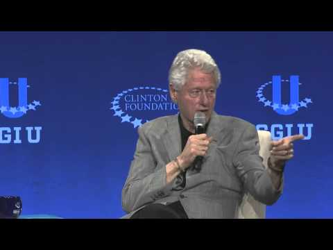 Larry Wilmore Interviews President Bill Clinton (CGI U 2015)
