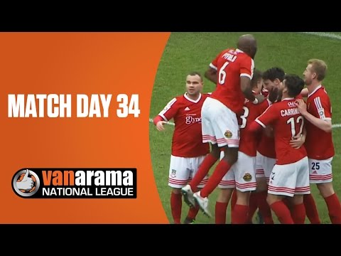 National League Highlights Show - Match Day 34