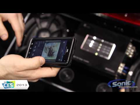 RE Audio Bluetooth Car Amplifier | CES 2013