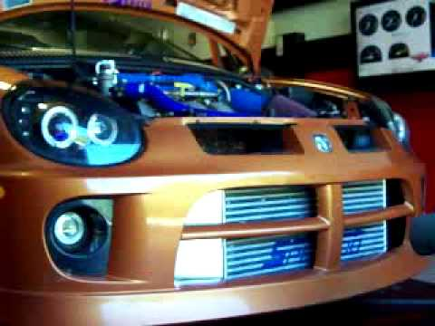 National Speed: 2005 Dodge Neon SRT-4 - Idling On the Dyno Ready to Roll...