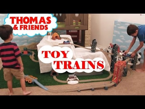 New Trackmaster Train Sets Kid Pretending Thomas The Train Toy