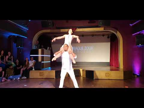 Kadu and Larissa Brazilian Zouk Performance at Prague Zouk Congress 2019