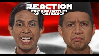 REACT SKINNYINDONESIAN24 | JOKOWI vs PRABOWO - Epic Rap Battles Of Presidency