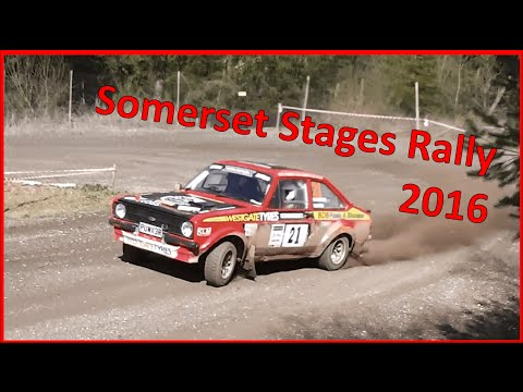 Somerset Stages Rally 2016 [HD] [1080p]