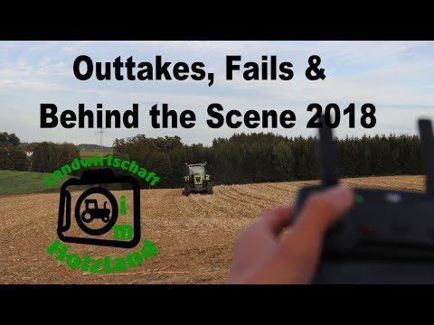 Outtakes, Fails und Behind the Scene 2018|Landwirtschaft im Holzland|LIH|