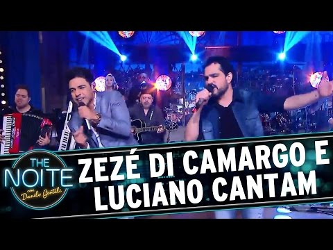 Zezé di Camargo e Luciano cantam no The Noite | The Noite (08/12/16)