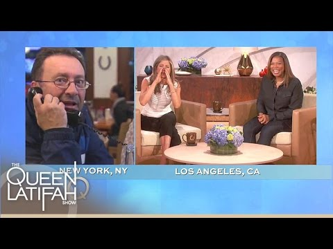 Jennifer Aniston Checks In With An Old Boss | The Queen Latifah Show
