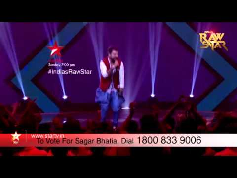 India's Raw Star Episode 8 – Vote for Sagar