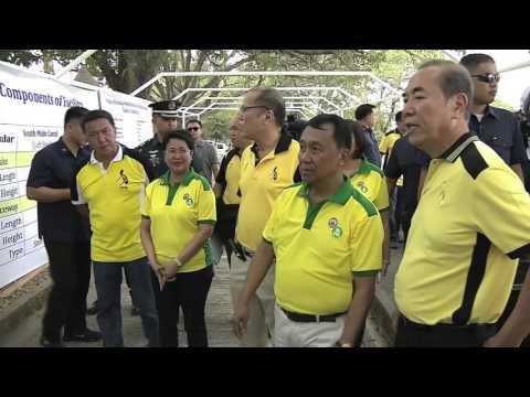 Launching of the Angat Afterbay Regulator Dam (Bustos Dam) Rehabilitation Project