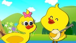 Five Little Ducks | Nursery Rhymes &  Numbers Songs | 82 Mins Compilation by HooplaKidz