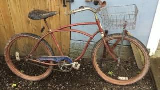 1960 Schwinn bicycle barn find