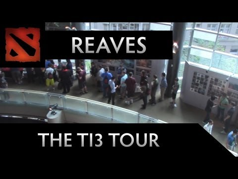 Dota 2 TI3 Tour - Reaves gives you a Tour of the Benaroya Hall