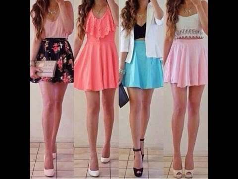 summer outfits for teenage girls with skirts youtube