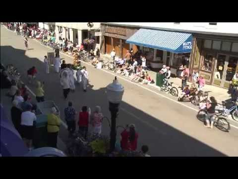 Mackinac Island Lilac Festival Grand Parade - June 16, 2013