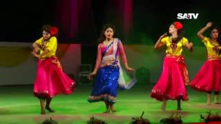 Tanjin Tisha Dancing on SATV Dance Program  Mourakkhi