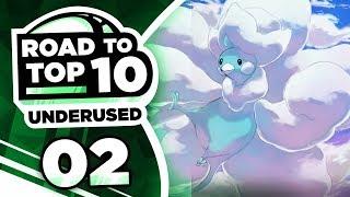 Pokemon Showdown Road to Top Ten: Pokemon Ultra Sun & Moon UU w/ PokeaimMD #2