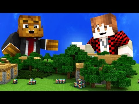 TINY HOUSE | LUCKY BLOCKS MOD | ONE vs ONE Mini-Game in Minecraft!