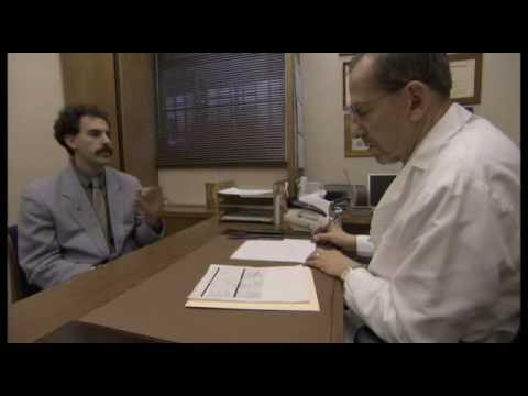 Borat Goes to Doctor - YouTube